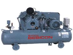 Hitachi Bebicon Oil Flooded Piston Air Compressor