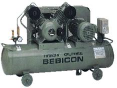 Hitachi Oil Free Bebicon Piston Air Compressor